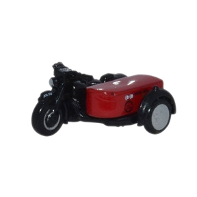 Oxford Diecast Motorbike and Sidecar Royal Mail
