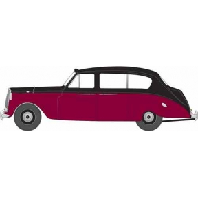 Oxford Diecast NAP004 Austin Princess (Late) Black/Royal Claret