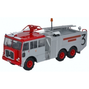 Oxford Diecast Thornycroft Nubian Isle of Man Airports Board Fire Se