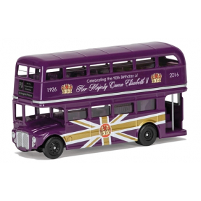 Corgi The 90th Birthday of HM Queen Elizabeth II Commemorative Bus