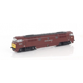 Dapol 2D-003-014 N Gauge Class 52 Western D1034 'Western Dragoon' BR Maroon Small Yellow Panels