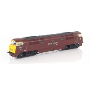 Dapol 2D-003-016 N Gauge Class 52 Western D1016 'Western Gladiator' BR Maroon Full Yellow Ends