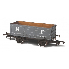 Oxford Rail OR76MW4007 4 Plank Mineral Wagon LNER 155629 (ex NBR)