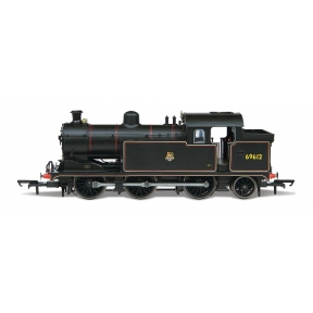 Oxford Rail OR76N7003XS LNER N7 0-6-2 69621 BR Black Early Crest DCC Sound