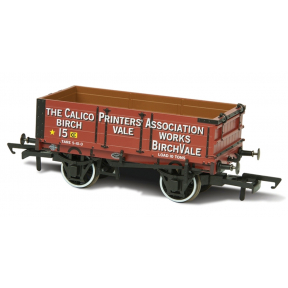 4 Plank Mineral Wagon 'Calico Printers Assn 15'