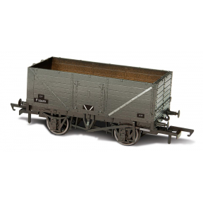 Oxford Rail OR76MW7013W 7 Plank Mineral Wagon BR Grey Heavily Weathered