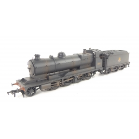 Bachmann 31-128 GW ROD 2-8-0 3036 BR Black Early Crest Weathered