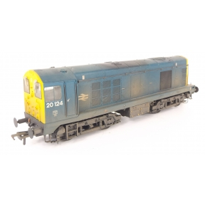 Bachmann 32-038DS Class 20 20124 BR Blue Weathered DCC Sound Fitted