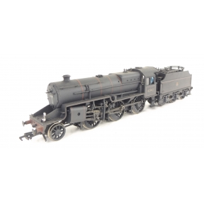 Bachmann 32-179 LMS Crab 2-6-0 42942 BR Black Early Crest Weathered