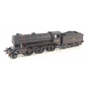 Bachmann 32-280 OO Gauge LNER K3 61869 BR Black Late Crest Weathered