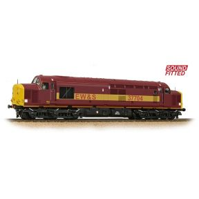 Class 37 37704 EW&S Area Exclusive DCC Sound
