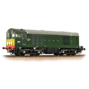 Class 20 D8011 BR Green Small Yellow Panel Disc Headcode
