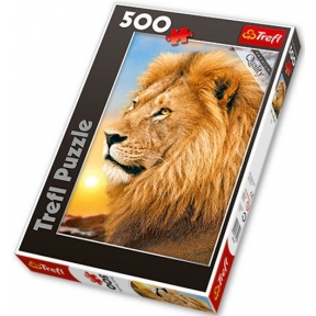 Lion 500 Piece Jigsaw Puzzle