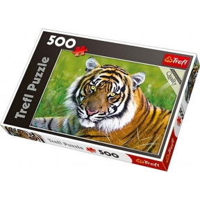 Tiger 500 Piece Jigsaw Puzzle