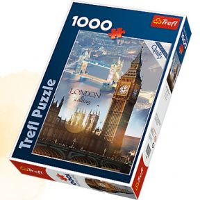 London At Dawn 1000 Piece Jigsaw Puzzle