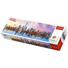 Manhattan - 1000 pieces panoramic jigsaw puzzle