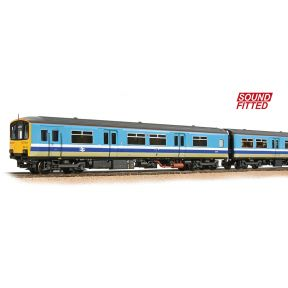 Bachmann 32-929SF OO Gauge Class 150/1 2 Car DMU 150115 BR Provincial Original DCC Sound Fitted