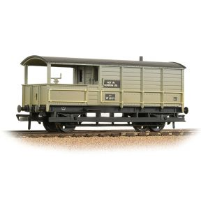 Bachmann 33-308A GWR 20 Ton Toad Brake Van BR Grey Weathered