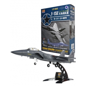 Easy Model F-15E Strike Eagle 91-311 LN 48FW US Airforce 48th Fighter Wing Commander's aircraft RAF Lakenheath.
