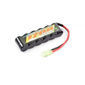 1700mah 7.2V NiMH Straight Battery Pack