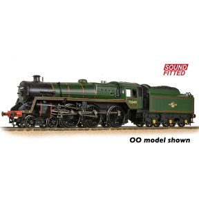 Graham Farish 372-728SF BR Standard 5MT with BR1 Tender 73049 BR Lined Green Late