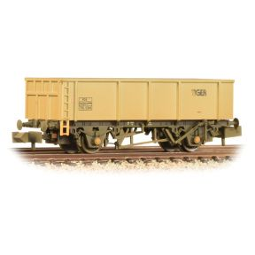 Graham Farish 373-975B 46T POA Mineral Wagon 'Tiger' Grey Weathered