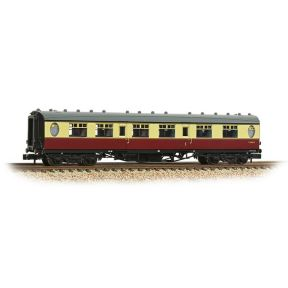 Graham Farish 376-201 N Gauge Thompson First Class Corridor BR Crimson & Cream