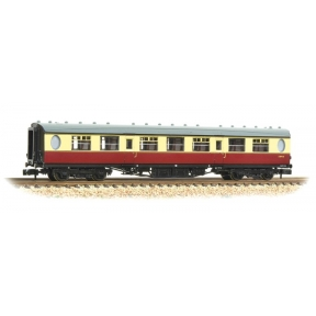 Graham Farish 376-251 N Gauge Thompson Third Class Corridor BR Crimson & Cream