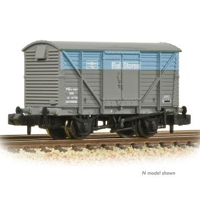 Bachmann 38-233 BR 12T Planked Ventilated Van With Plywood Door BR Department