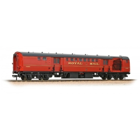 Bachmann 39-421B BR Mk1 POS Post Office Sorting Van Post Office Red (with Ne