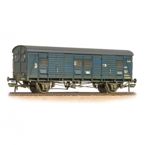Bachmann 39-528A OO Gauge SR CCT Covered Carriage Truck BR Blue Weathered