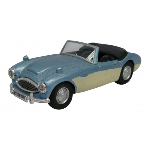 Austin Healey Metallic Blue/Milky