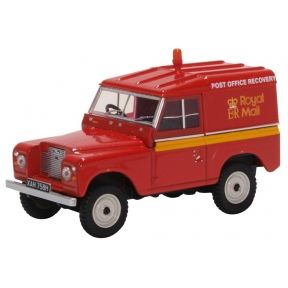 Oxford Diecast 43LR2AS002 Land Rover Series IIA SWB Hard Top Royal Mail Post