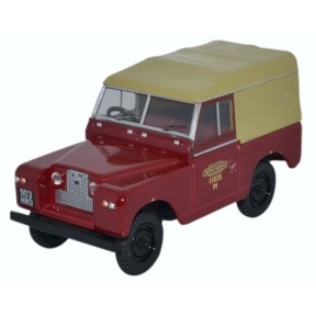 Oxford Diecast 43LR2S002 Land Rover Series II SWB Canvas British Rail