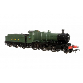 Dapol 4S-043-003 OO Gauge GW Mogul 43xx Green With GWR & BR Smoke Box Number Plate