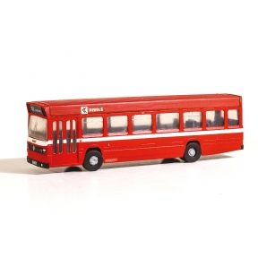 Modelscene 5142 Vari-Kit Red Leyland National single Decker Bus