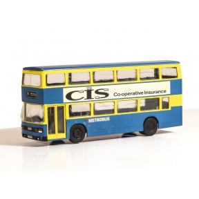 Modelscene 5502 OO Gauge London Buses Metro Leyland Olympian Double Decker Bus