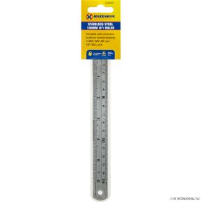 Stainless Steel Ruler 150mm (6'')