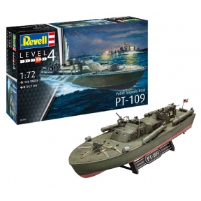 Revell 65147 Patrol Torpedo Boat PT-109 Model Set Plastic Kit