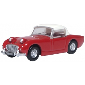 Oxford Diecast Austin Healey Frogeye Sprite Cherry Red