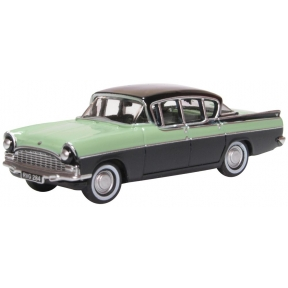 Oxford Diecast Vauxhall Cresta Versailles Green and Black