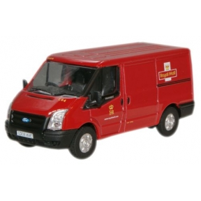 Oxford Diecast Royal Mail New Ford Transit Van (L.Roof)