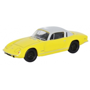 Oxford Diecast Lotus ELAN Plus2 - Yellow & Silver