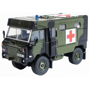 Oxford Diecast BAOR (British Army of the Rhine) 1990 Land Rover FC Ambulance