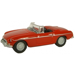 Oxford Diecast MGB Tartan Red