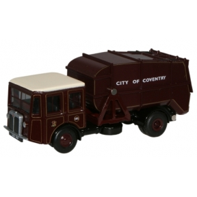 Oxford Diecast Coventry Shelvoke & Drewry Dustcart