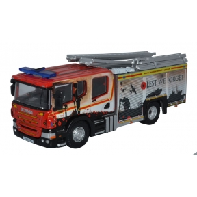 Oxford Diecast Humberside Fire and Rescue Pump Ladder