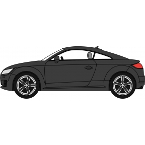 Oxford Diecast Audi TT Coupe Brilliant Black