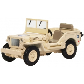 Oxford Diecast Willys MB USAAF Tunisia 1940