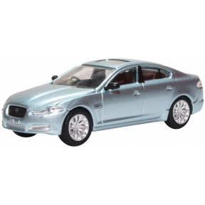 Oxford Diecast Jaguar XF Crystal Blue